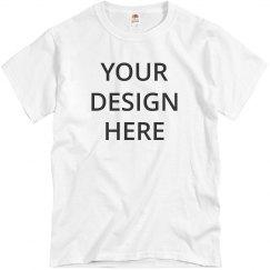 Add Your Design Custom T-Shirt