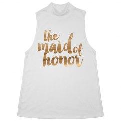 Maid of Honor Bling & Metallic
