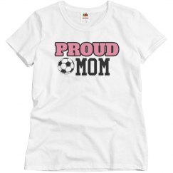 Proud Soccer Mom