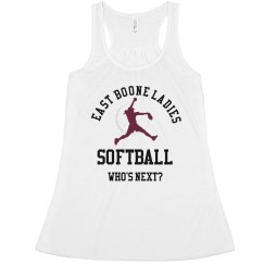 Ladies Softball Tank
