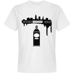 Nbhd Heroes Spray paint tee