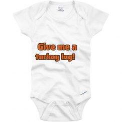 Turkey leg!