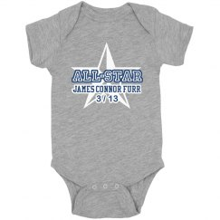 All-Star Newborn Onesie