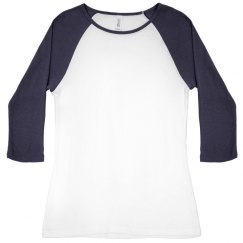 Faux Blue Glitter Skull And Crossbones Shirt