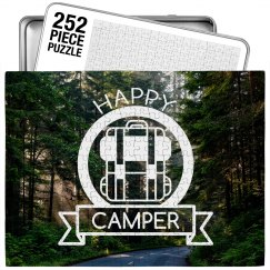 Trendy Happy Camper Forest Puzzle