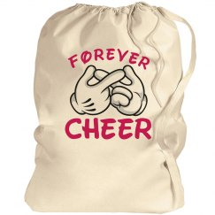 Cheerleader's Forever Cheer Laundry Bag