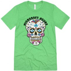 Azure Day of the Dead Tee Envy