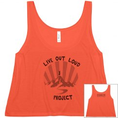 Live Out Loud Project Crop Tank