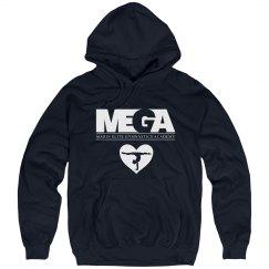 Sweatshirt Logo and Heart Grahpic