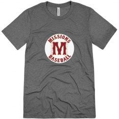 Men's Missions Baseball ball logo