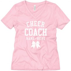 Cheer Coach Custom Boyfriend Tee