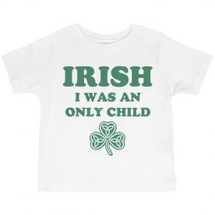Funny St Pats Kid Shirt Irish