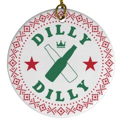 Christmas Festive Dilly Dilly Beer