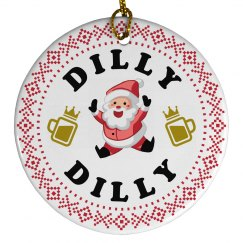 Dilly Dilly Cute Santa Claus