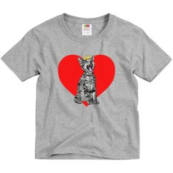 Kitty Heart Boy's