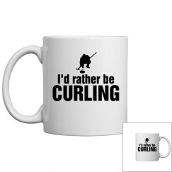 Rather be curling
