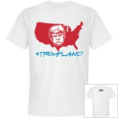 Johnny Dappa Trading Co. Premium #TrumpLand T-Shirt W