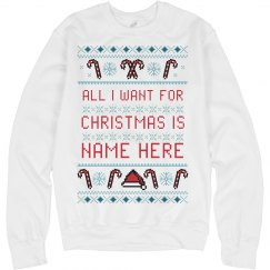Custom Xmas Personal Ugly Sweater