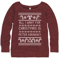 I Want Peter Kavinsky Ugly Sweater