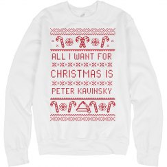 Peter Kavinsky Tacky Xmas Sweater