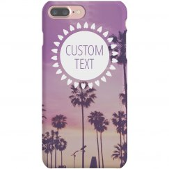 Custom Palm Trees iPhone Case