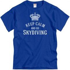 keep calm-go skydiving