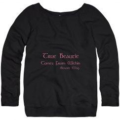 Beautie Wideneck Sweatshirt