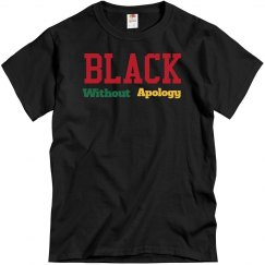 black without apology