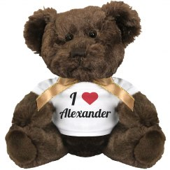 I love Alexander
