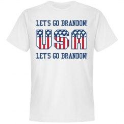 Let's Go Brandon USA T-Shirt