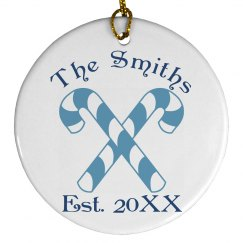 The Smith Family Ornament