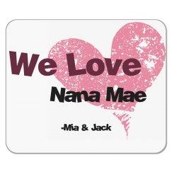 Nana's Mouse Pad