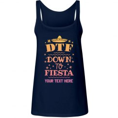 Down To Fiesta Custom Tank