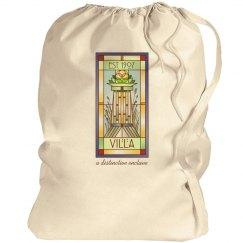 Villa Logo Laundry Tote