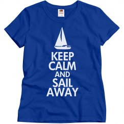Keep calm and sail away