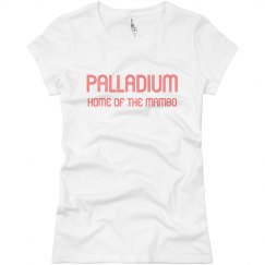 White Palladium Tee