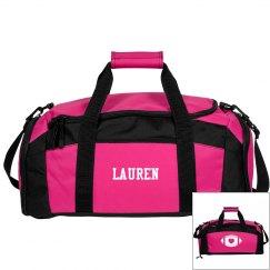 Football Mom Duffel Bag