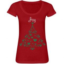 ChristmasTreeHearts Joy