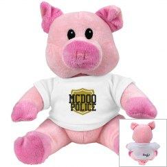 McPd Piggie soft animal