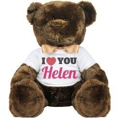 I love you Helen!