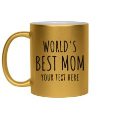 World's Best Mom Custom Gift