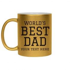 World's Best Dad Custom Gift