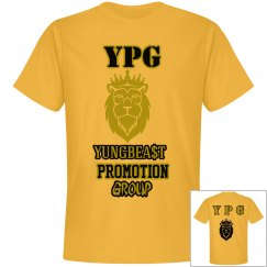 YPG YUNGBEA$T PROMO GOLD&BLACK PREMIUM NEXT LEVEL TEE