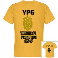 YPG YUNGBEA$T PROMO GOLD&BLACK PREMIUM NEXT LEVEL TEE