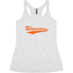 Go warriors tank top.