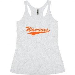 Go warriors tank top.