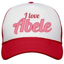 I love Abele