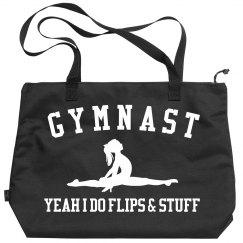 I'm A Gymnast I Do Flips And Stuff