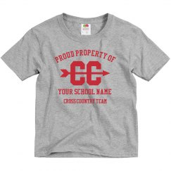 Custom Cross Country School Team Tee