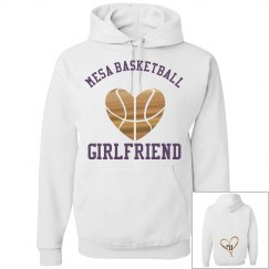 Mesa Basketball Girlfriend Hoodie